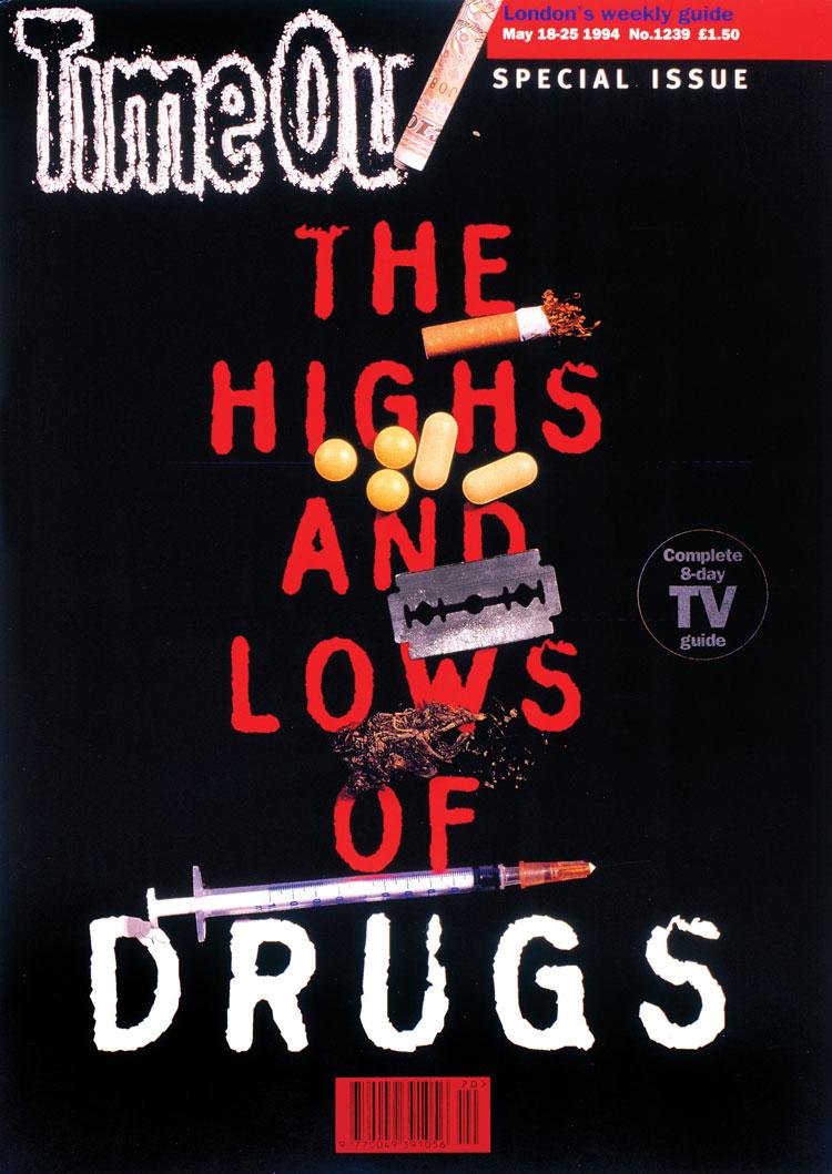 The highs and lows of drugs es el tema de una de las portadas de Time out