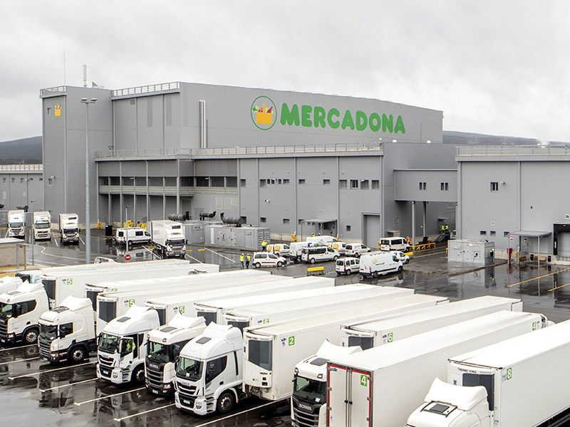 Bloque logístico de Mercadona en Vitoria-Gasteiz