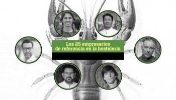 Los 25 empresarios de referencia en la hostelería según la revista Tapas