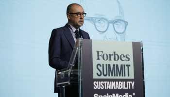 Andrés Rodríguez, presidente, editor y director de Forbes España, durante su intervención en Forbes Summit Sustainability 2020