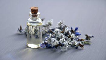 Perfume y flores