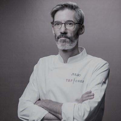 El chef Julio Miralles