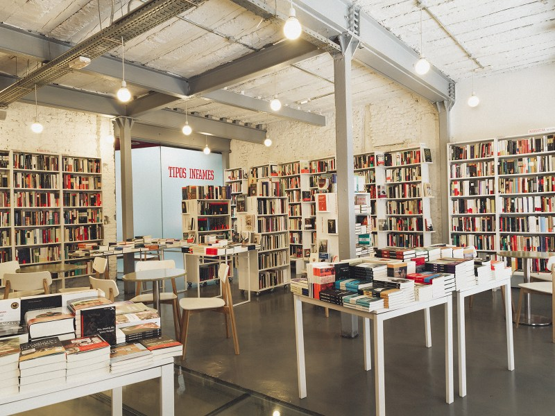 Librería Tipos Infames (Madrid). Foto: Jean Franco Sialer