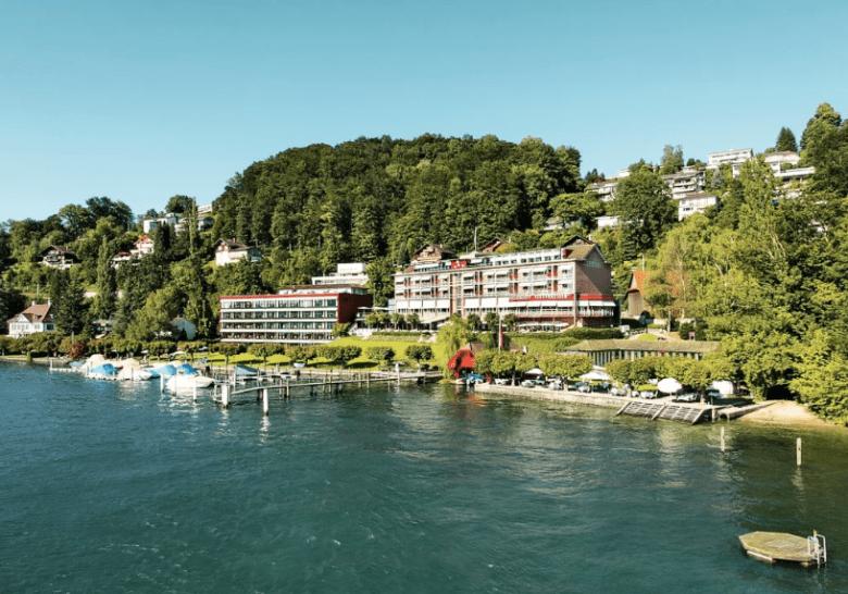 Seehotel Hermitage****, Lucerna. Turismo Suiza