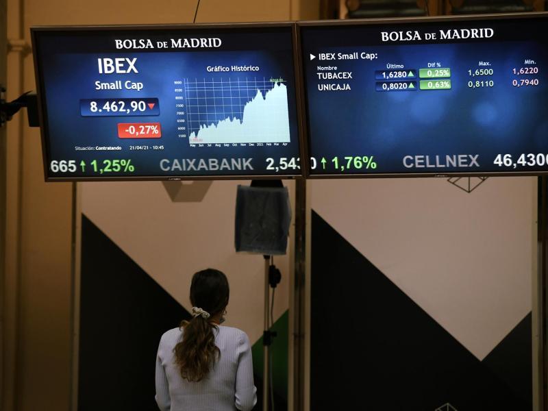 Valores del Ibex. Foto: EP