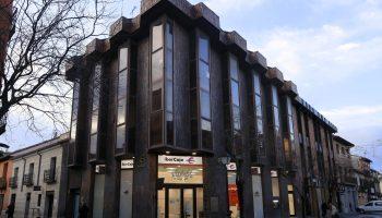 Oficina de Ibercaja en la calle Libreros de Alcalá de Henares (Madrid). Foto: Ibercaja