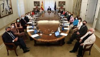 Consejo de ministros (13/07/2021)