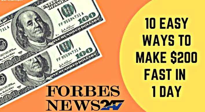10 Ways to make 200 dollars a day