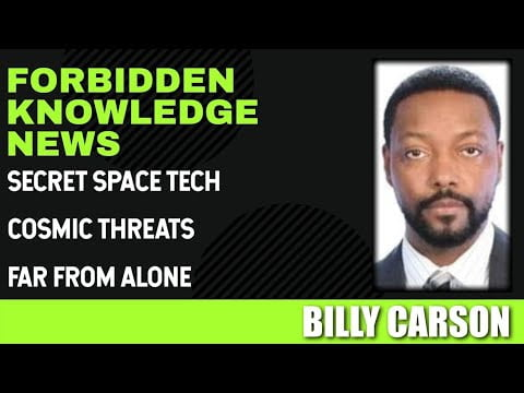 Secret Space Tech – Cosmic Threats – Far From Alone with Billy Carson