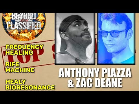 Frequency Healing – Rife Machine – Healy Bioresonance with Anthony Piazza and Zac Deane(Preview)