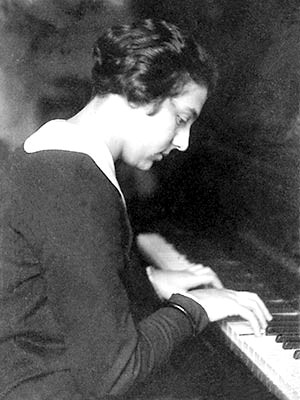 Alice Herz-Sommer in younger years