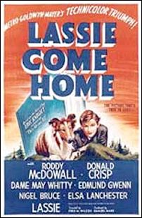 Lassie Come Home, with uncredited film scoring by Zeisl