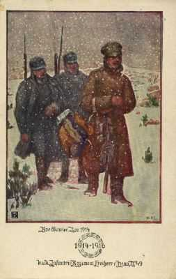 War in Winter - in previous wars, fighting was often stopped during the coldest months