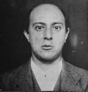 Arnold Schoenberg 1905, the year he started teaching Egon Wellesz