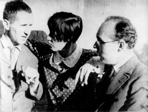 Brecht, Lotte Lenya and Kurt Weill