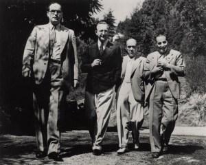A walk in the forest: Otto Klemperer, Prince Hubertus von Löwenstein, AS and Ernst Toch