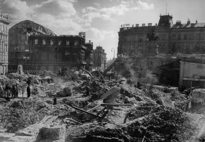 War damaged Vienna 1945