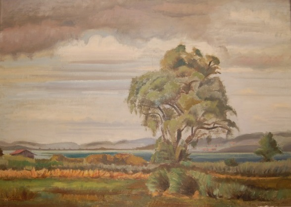 Ammersee as painted by Hans Winterberg