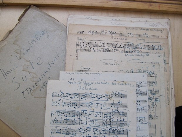 Winterberg compositions from Theresienstadt