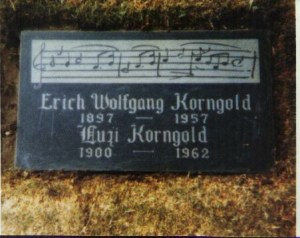 Korngold's Grave - Hollywood USA