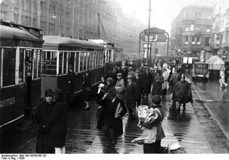 Berlin 1928 Alexanderplatz
