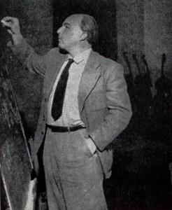 Ernst Krenek teaching in 1940