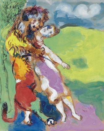 Chagall's 'Lion Amareux