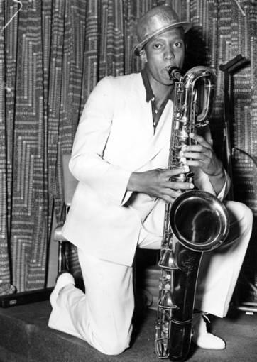 Jesse Owens with Saxophone