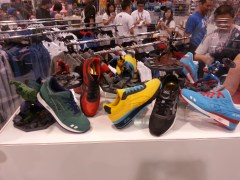 New Asics Marvel Shoes at the BAIT booth