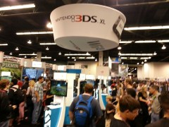 Nintendo Booth at WonderCon 2013