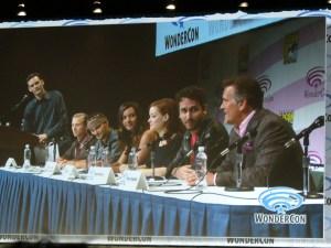 Cast of EVIL DEAD at WonderCon 2013