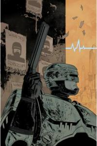 Cover 1A of ROBOCOP: Last Stand from BOOM! Studios