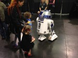"""I can say hello?"" (He bowed to R2)"