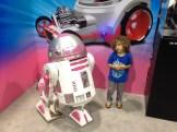 """She's a nice droid"""