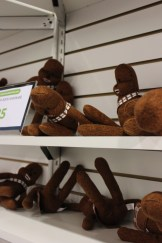 Wookie Sock Puppet Plush for $25