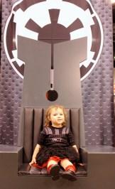 Miss Vader has taken over