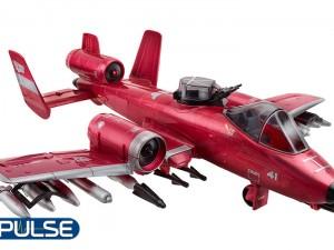 hasbro sdcc transformers joe crossover powerglide rattler