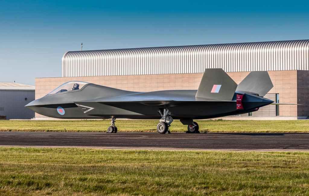 O FCAS ou Tempest com será designado na RAF ,terá apenas a versão baseada em terra (Imagem CG via BAE).