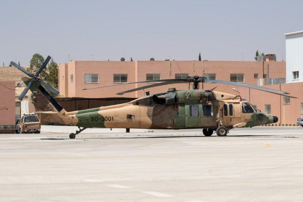 Áustria recebe dois S-70A-42 Black Hawk da Jordânia matriculados SO-3002 e SO-3004. Uma terceira aeronave deverá chegar nos próximos dias (Foto: RJAF).
