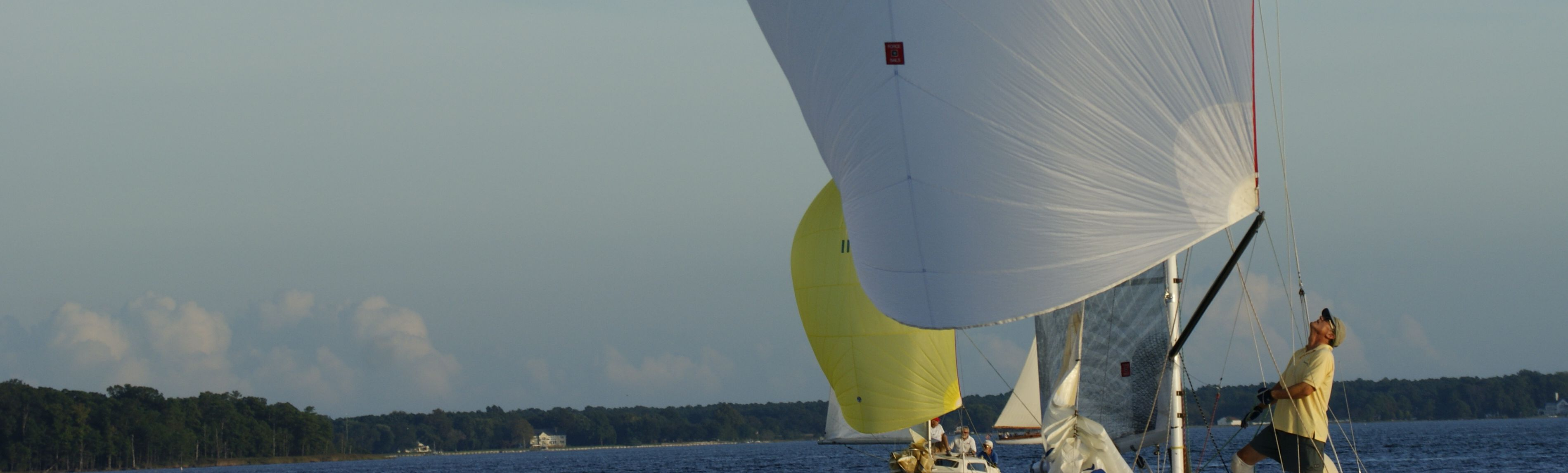 win with custom racing sails by Force 10 Sails