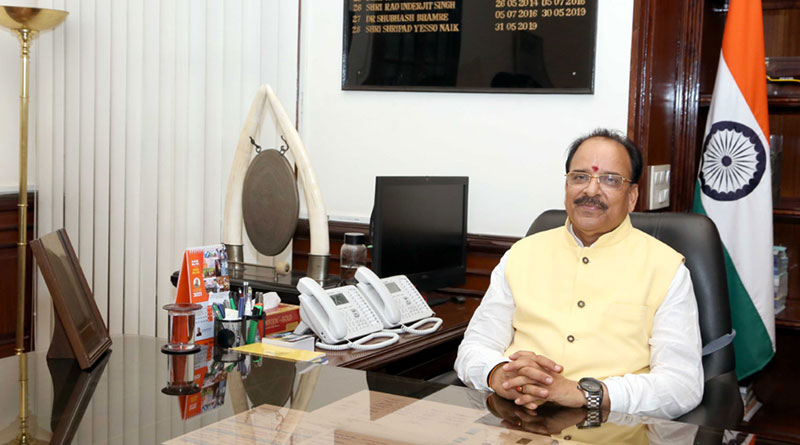 Ajay Bhatt Takes Over as Minister of State for Defence