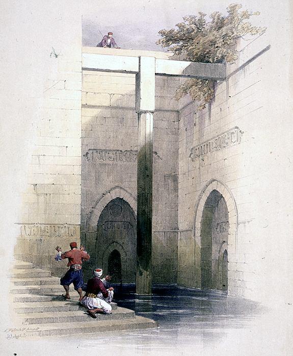 The Nilometer on Rhoda Island in Cairo