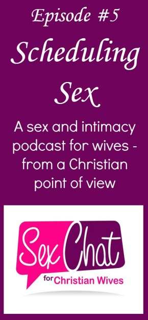 Should you schedule sex in your marriage? Does that seem boring? This episode talks about setting aside and prioritizing time for great sex and intimacy in your marriage. Tips and advice | Encouragement | Christian marriage