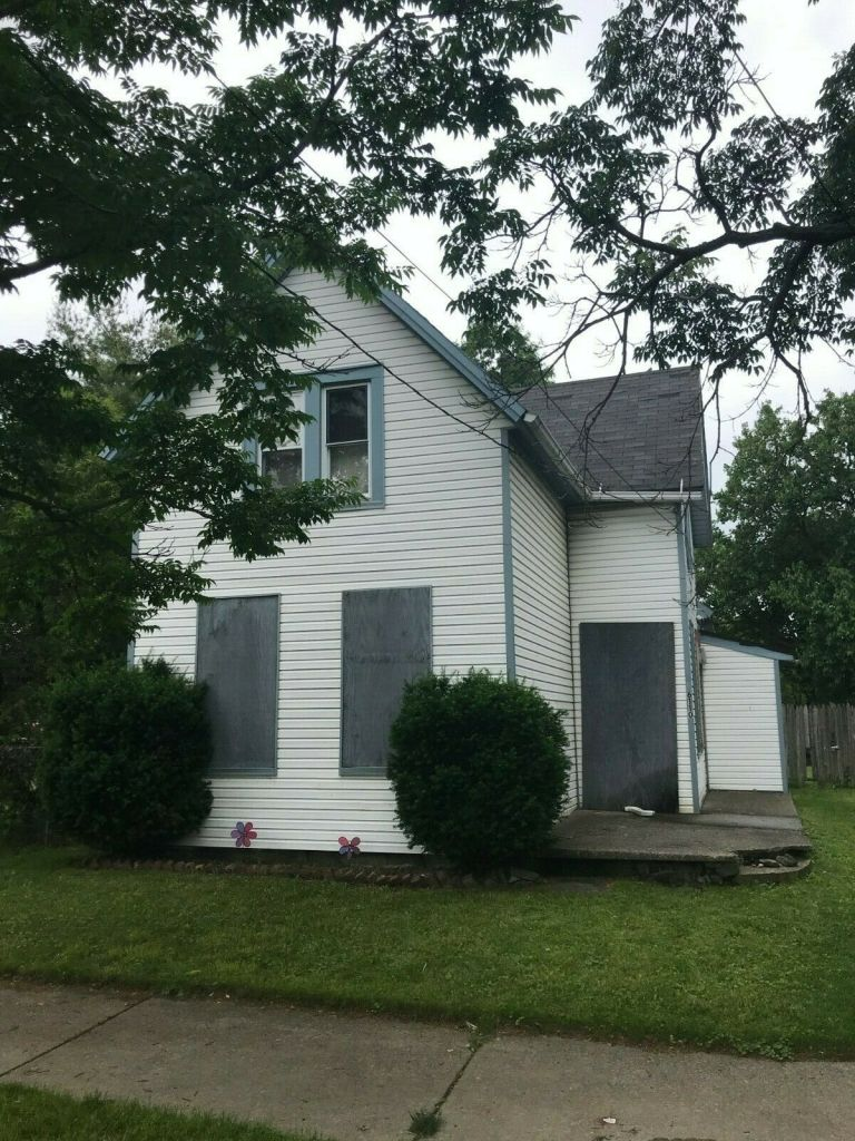 West Cleveland Ohio Investment Property Real Estate Rehab Fixer Upper Single Fam 3