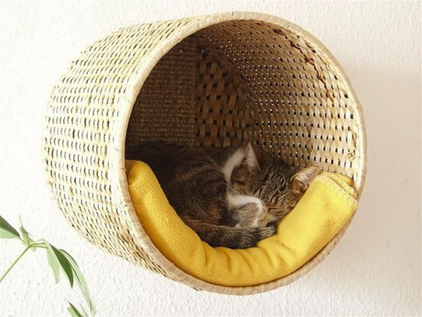 Basket Pet Bed: