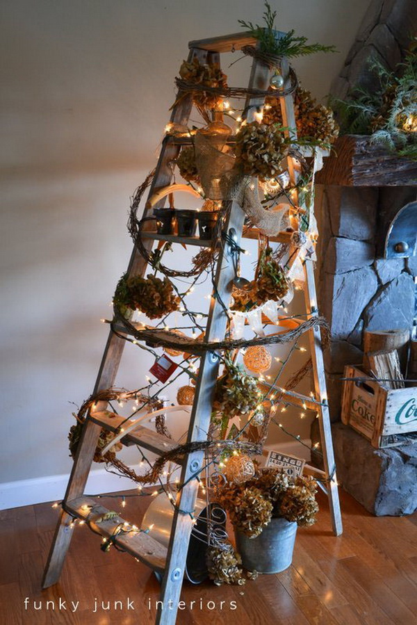 Ladder Christmas Tree.