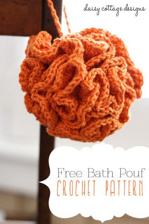 Bath Pouf Crochet Pattern.