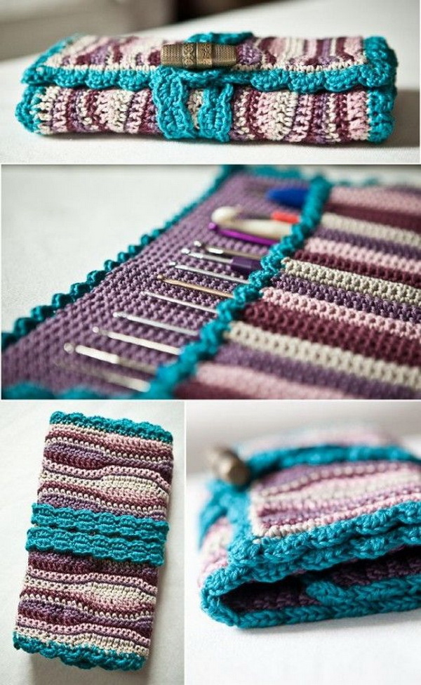 Crochet Hook Case Free Pattern.