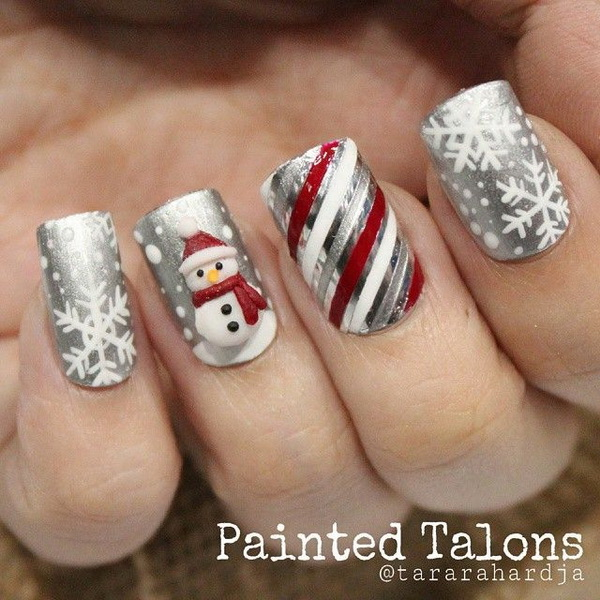 25 Inspirational Winter Nail Art Ideas For Creative Juice