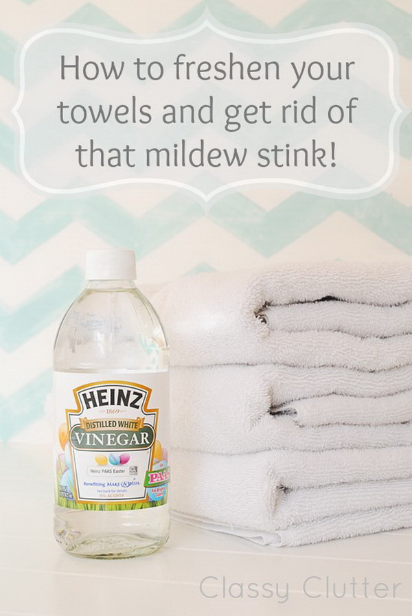 How to Freshen Your Towels and Get Rid of That Mildew Stink: